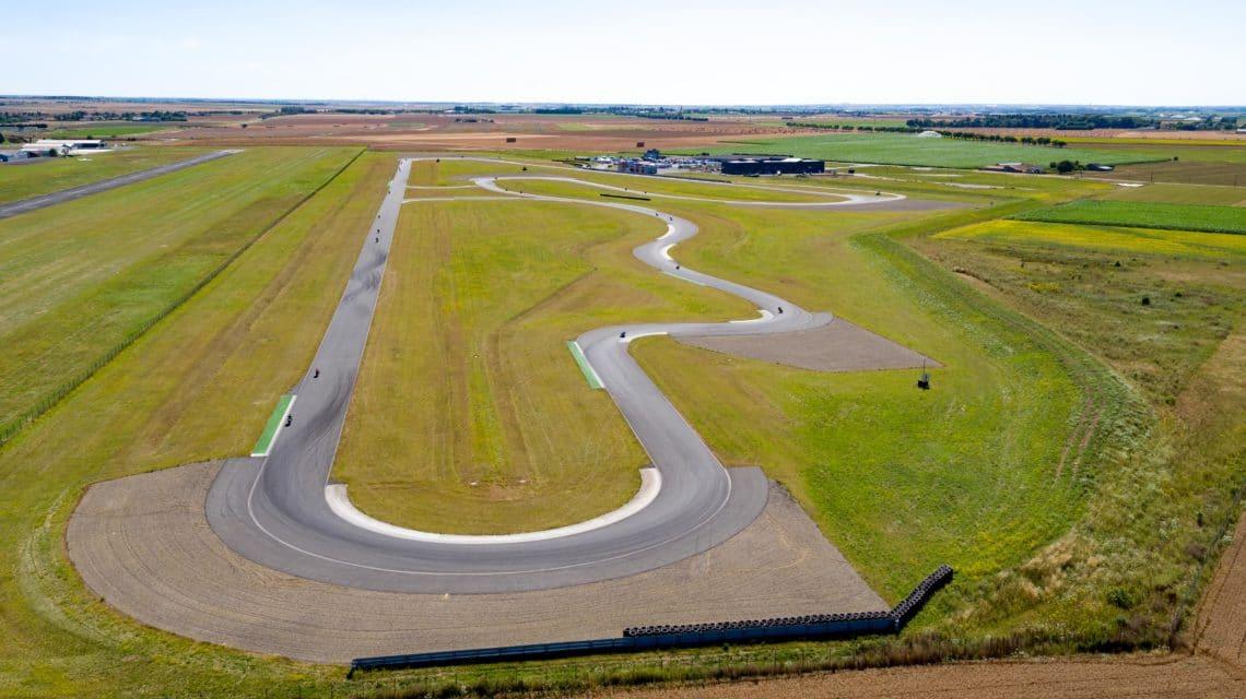 Circuits de Vendée Vue Aérienne