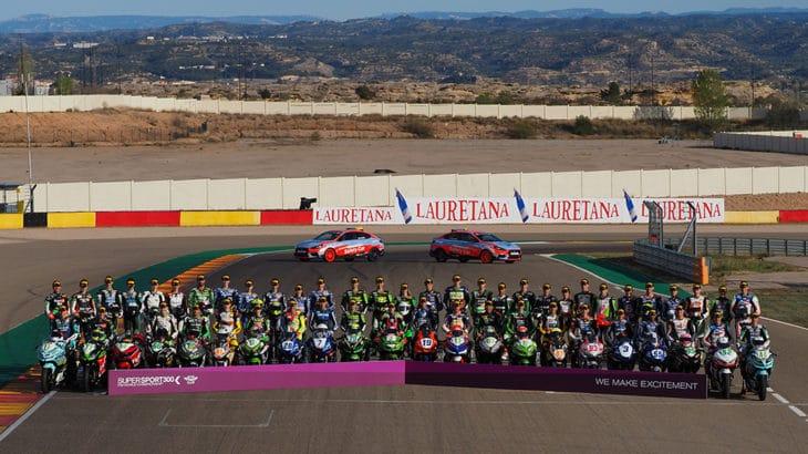 Vue d'ensemble pilotes moto du WorldSSP300